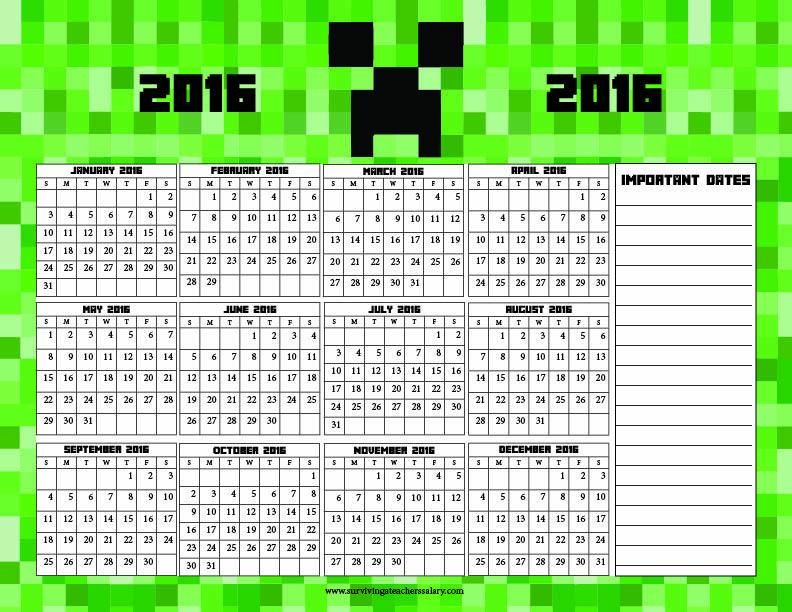 Make Calendar Online Free Printable