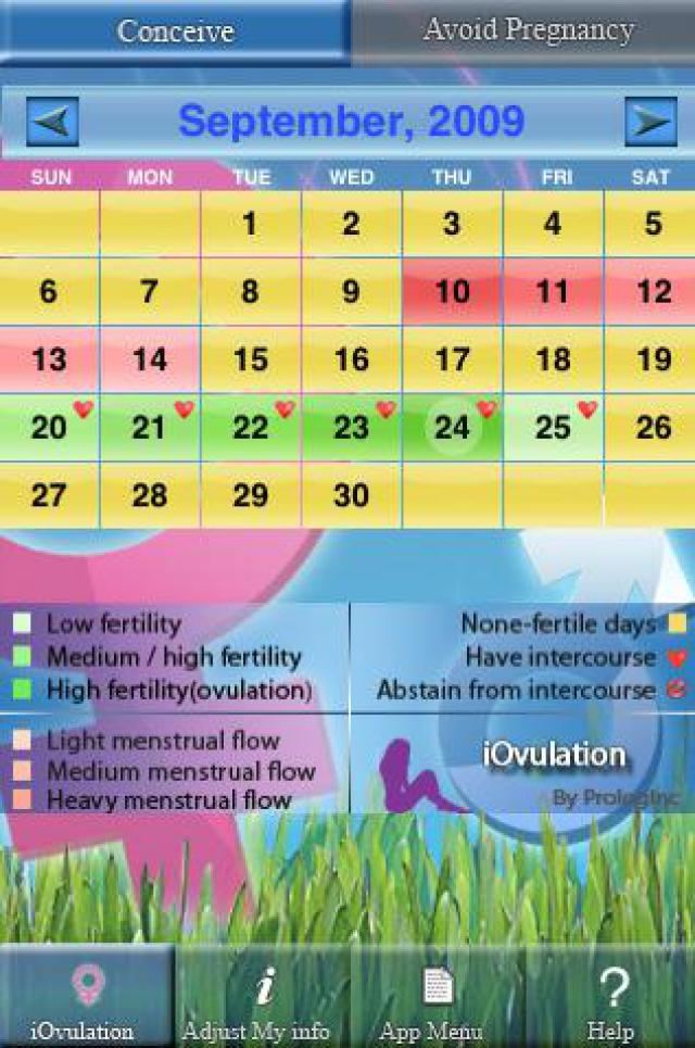 Menstrual Cycle Calendar Printable Related Keywords & Suggestions