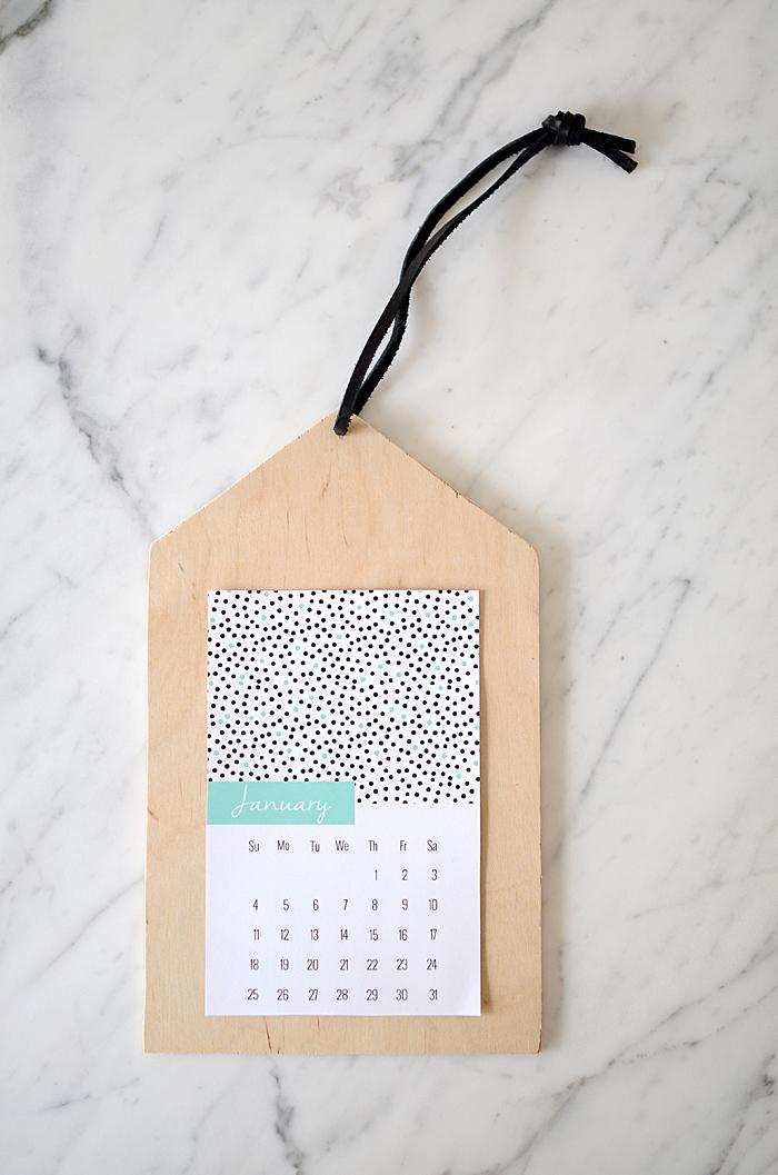 Nalle's House  2015 Printable Calendar