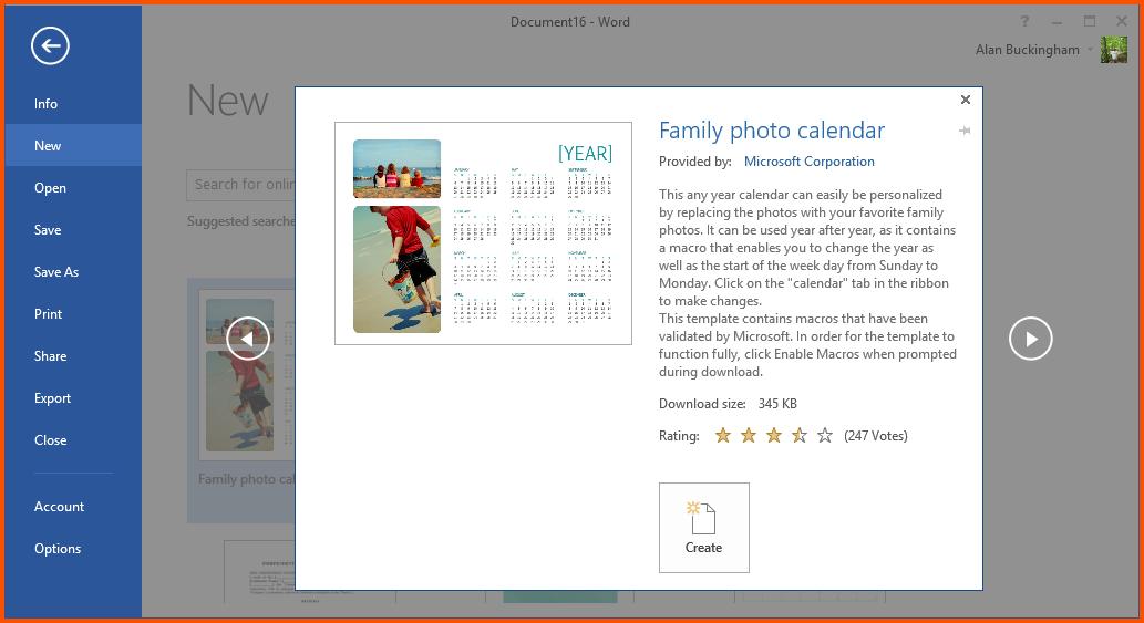 12+ Create A Calendar In Word