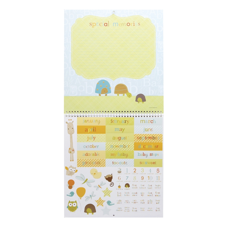 Baby First Year Calendars
