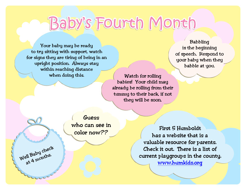 Baby's First Year Activity Calendar    Local Childcare Planning