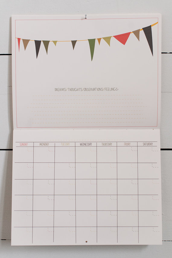 Baby's First Year Calendar Boy Coloring By Homeseed On Etsy