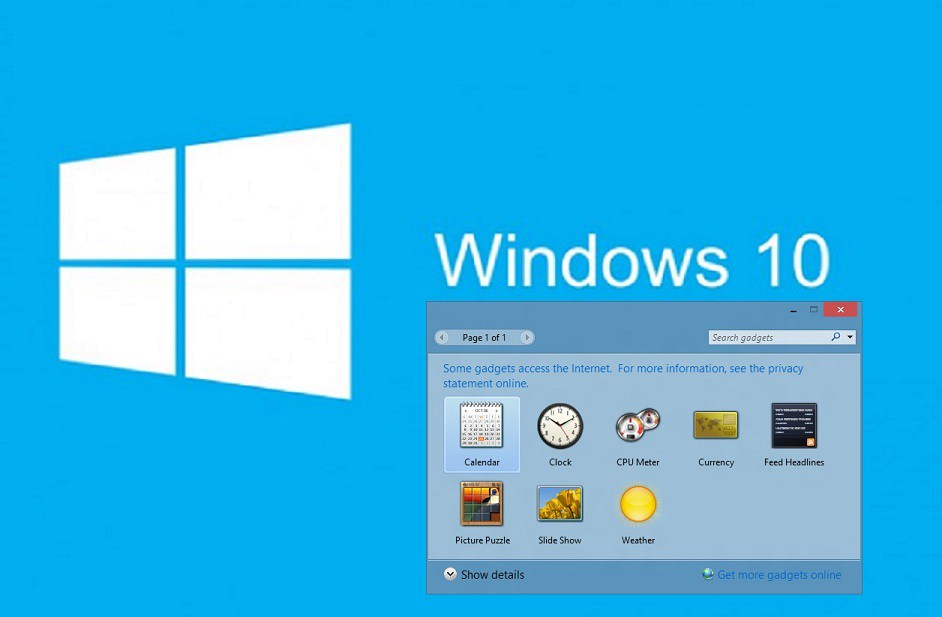 Desktop Calendar Windows 7 : Windows gadgets calendar template