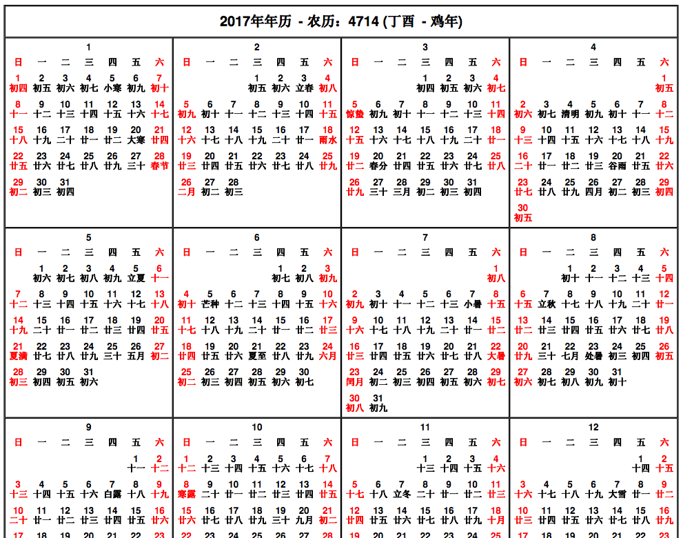 Calendar Chinese New Year : Chinese new year calendar template