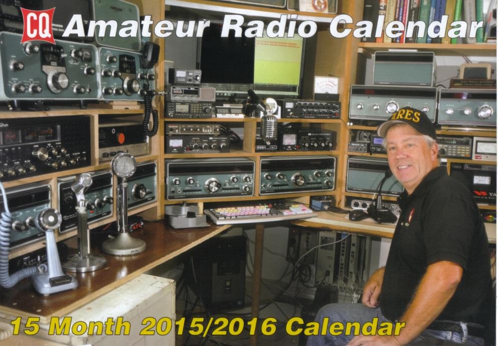 Cq Amateur Radio Operators Calendar 2015 16
