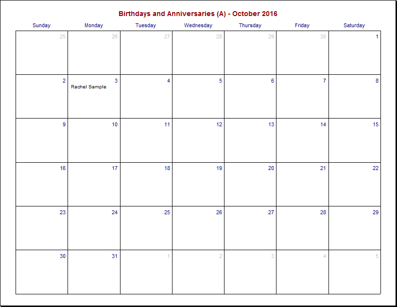 Ez Birthday Software