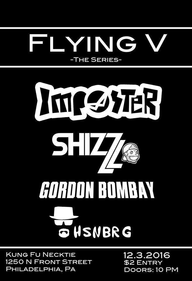 Flying V – The Series – Tickets – Kung Fu Necktie – Philadelphia