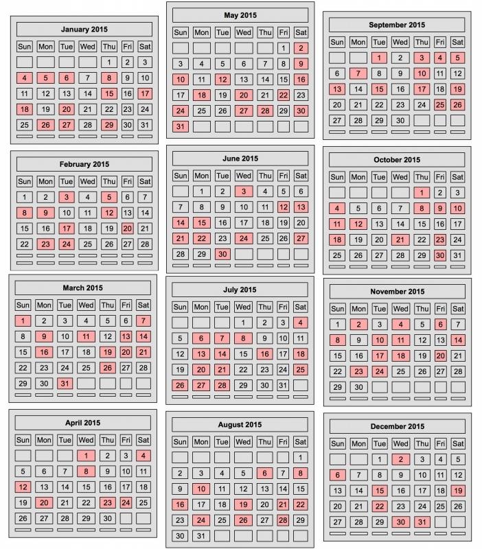 Free Printable Chinese Calendar