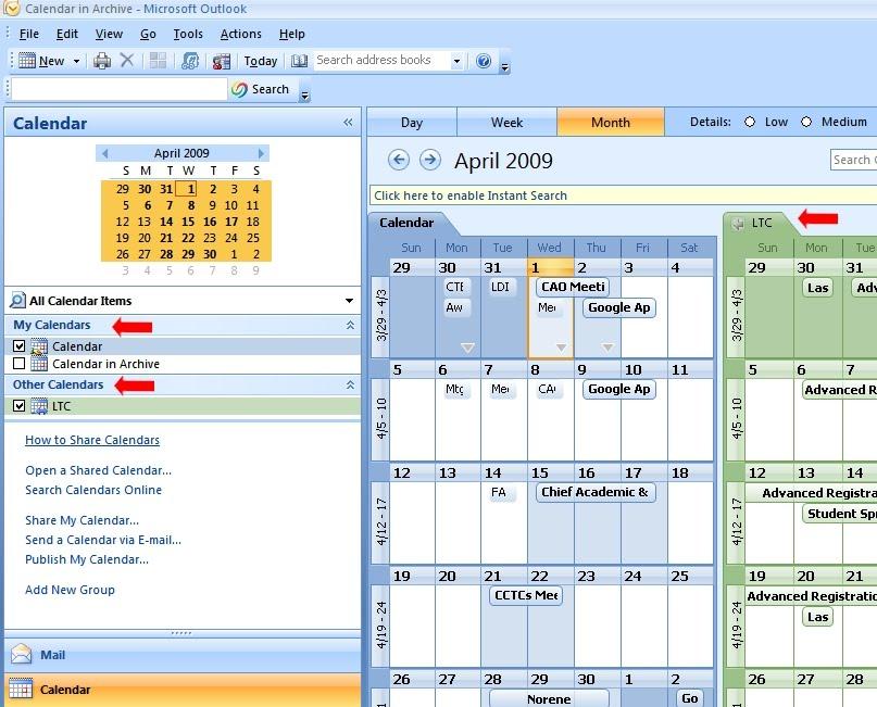 Google Calendar & Outlook Subscriptions