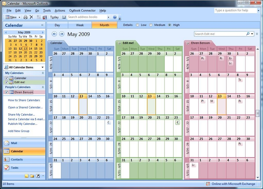 Helpdesk Article 117 Opening Shared Calendars In Outlook 2007 2003