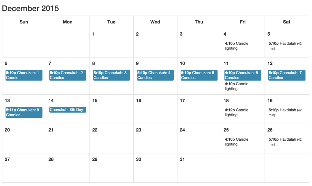 Jewish Calendar For Ical