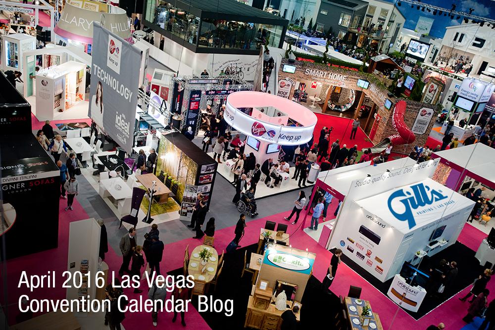 Las Vegas Convention Calendar – April 2016