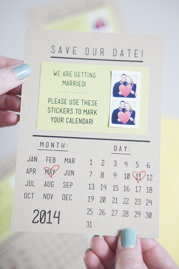 Make Your Own Instagram Save The Dates!
