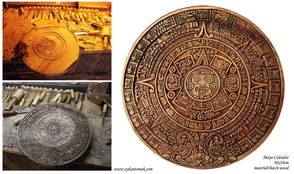 Maya Calendar By Ayhantomak On Deviantart