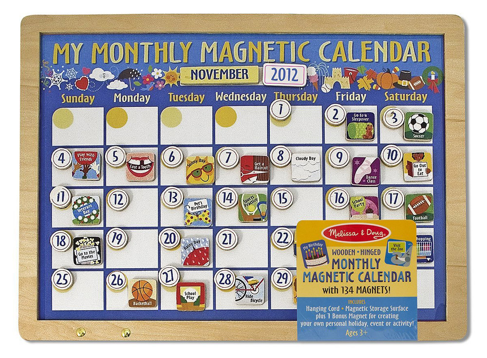 Melissa & Doug – My Monthly Magnetic Calender