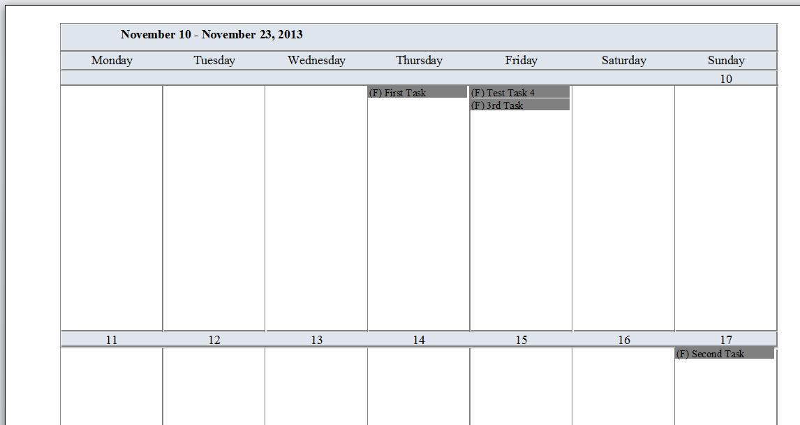 Microsoft Access Task Management Database Template