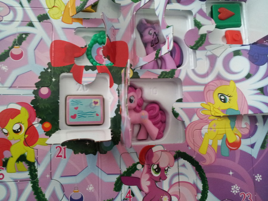 My Little Pony Advent Calendar Calendar Template 2019