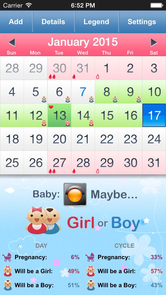 Ovulation Calculator Fertility Calendar Gallery