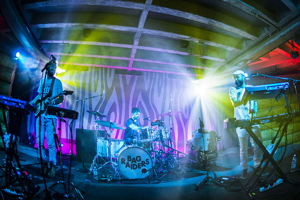 Photos Of Bag Raiders At The Doug Fir Lounge On March 26, 2016