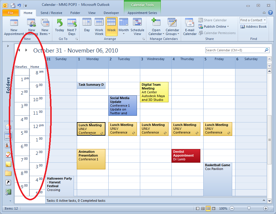 Q  How Do You Show Multiple Time Zones In Calendar View In Outlook