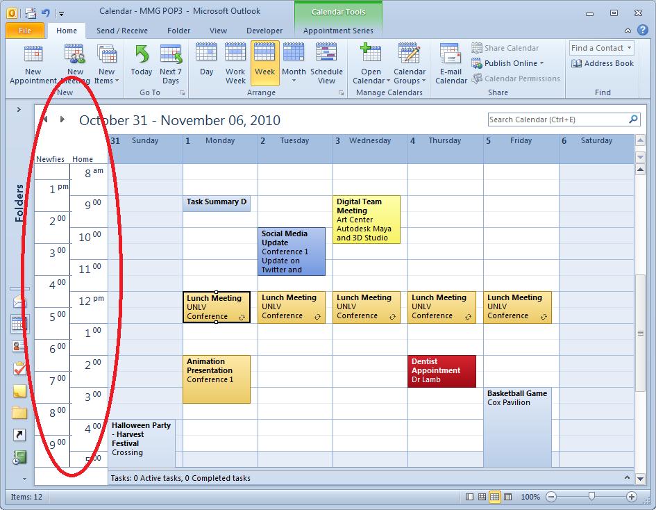 Calendar Time Zone Planner : Outlook calendar time zone template