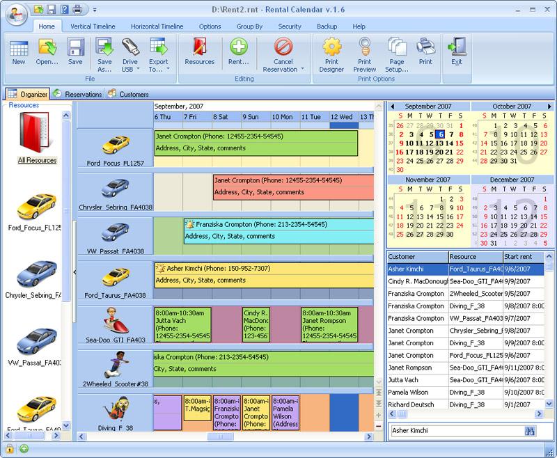 Rental Calendar V 5 0