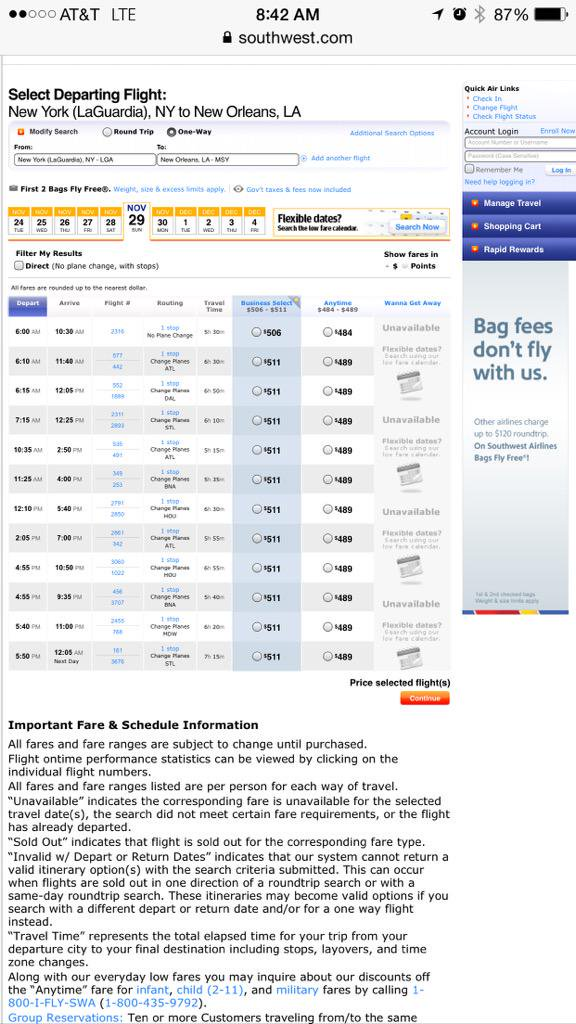 Southwest Airlines On Twitter   @jay_marks Our Low Fares Get