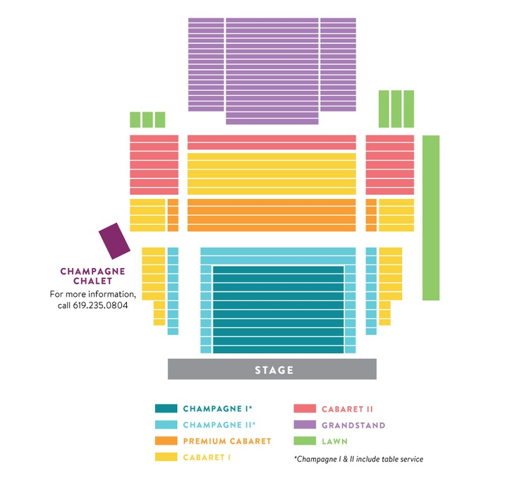 Tickets & Events Ticket Office Seating Charts