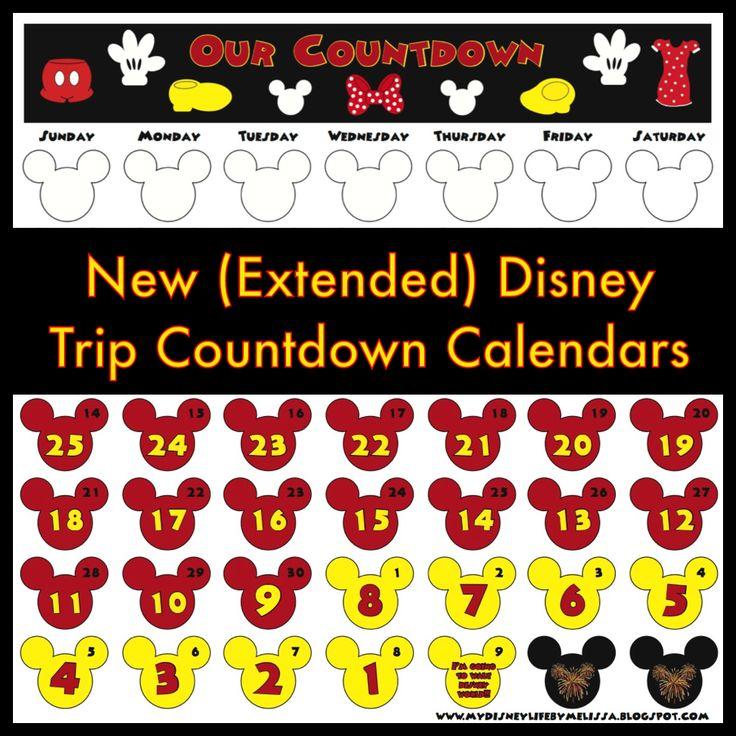 1000+ Ideas About Disneyland Calendar On Pinterest