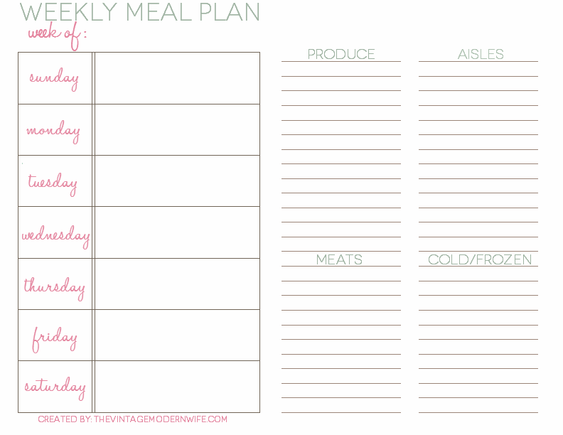 1000+ Images About Menu Planners