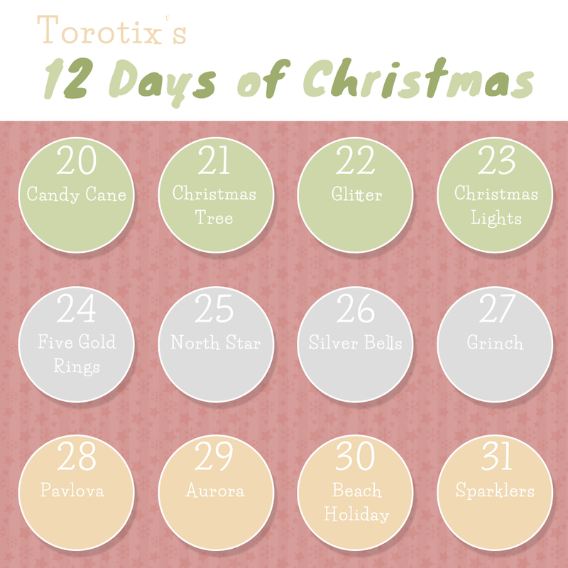 12 Days Of Christmas Calendar Calendar Template 2018