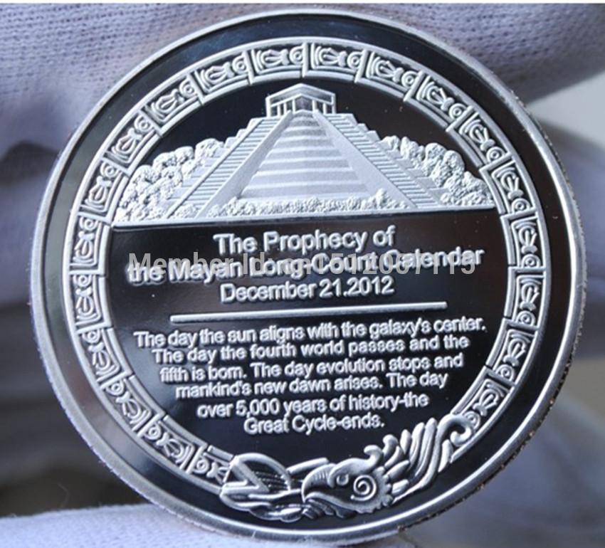 2pcs Lot, Mayan Aztec Long Count Calendar Religion Mysterious Art