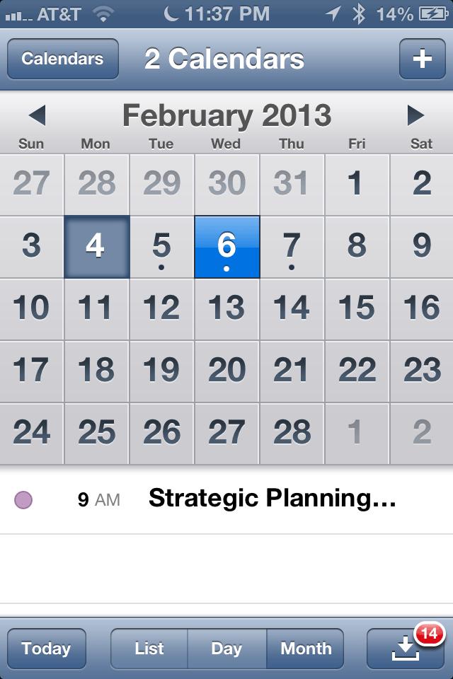 6 Tips For The Calendar App On Iphone, Ipad (mini), Ipod Touch