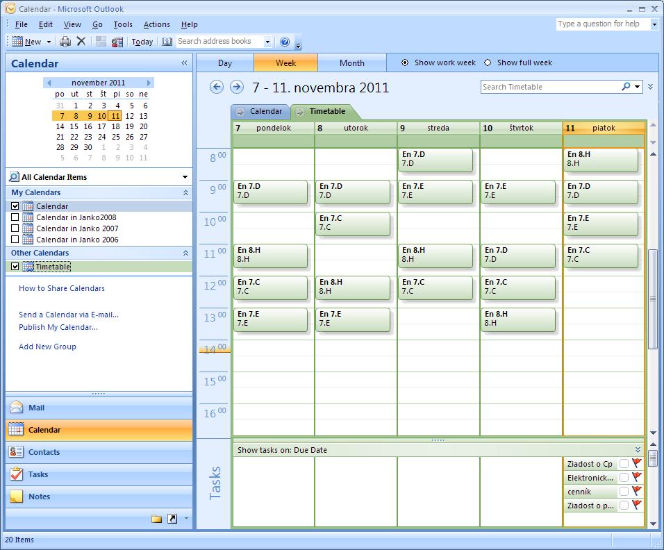 Add Timetable To Your Calendar Application (google Calendar