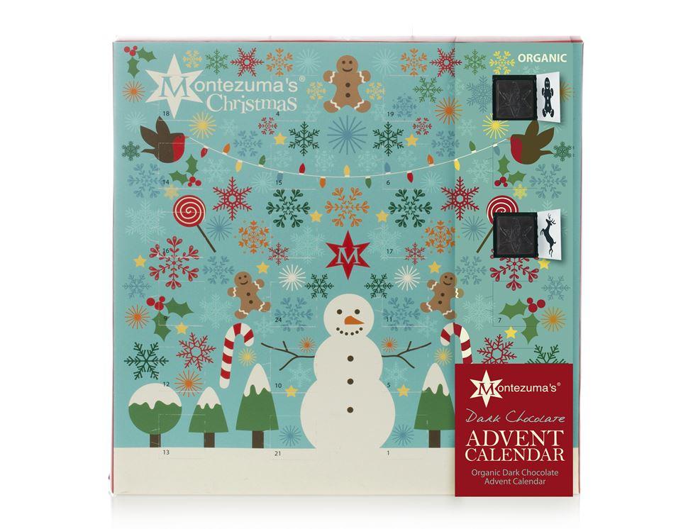 Advent Calendar, Dark Chocolate, Montezuma (240g)