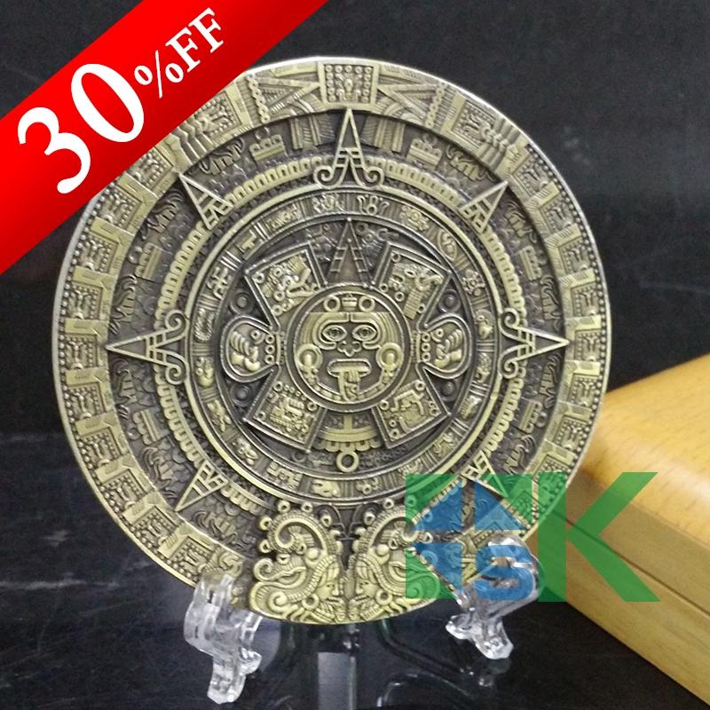 Aliexpress Com Buy New Design 80 10mm Mayan Calendar Prophecy