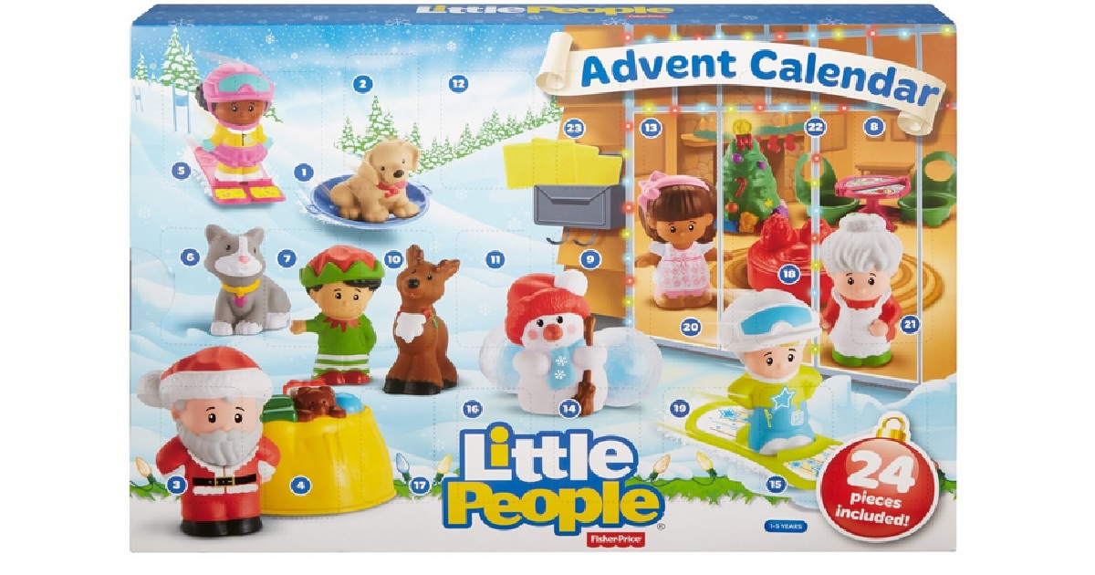 Amazon  $10 Off $40 Fisher Price Purchase = Little People Advent