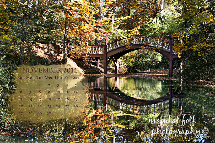 Another November 2011 Free Desktop Calendar