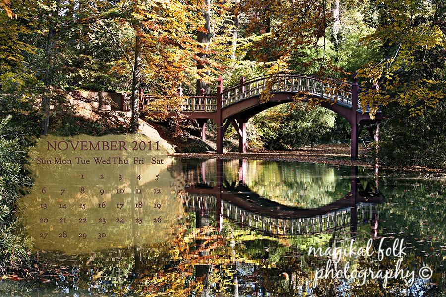 Another November 2011 Free Desktop Calendar