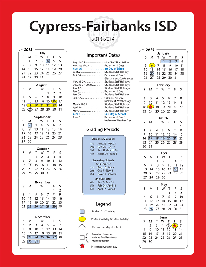 Blog Entries Tagged Cypress Fairbanks School District