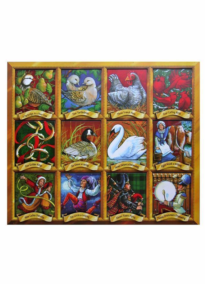 Byers Choice Wooden Advent Calendars