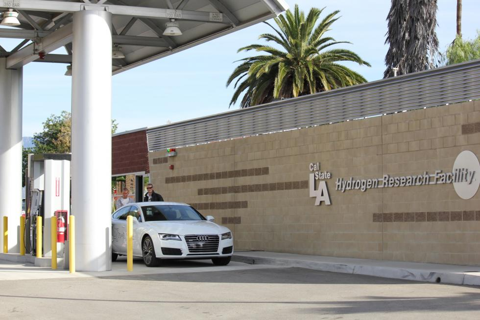 Cal State L A Hydrogen Station Becomes First In California To Be
