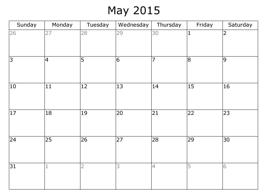 Calendar 2017 Events