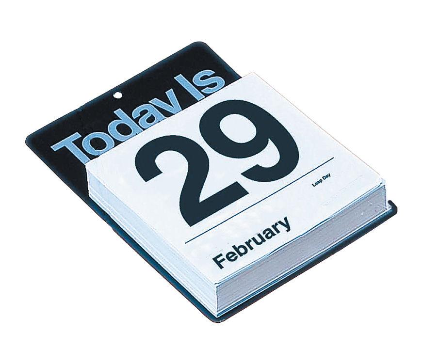 Calendar Day By Day