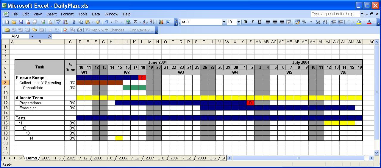 Calendar Template 2010 Excel