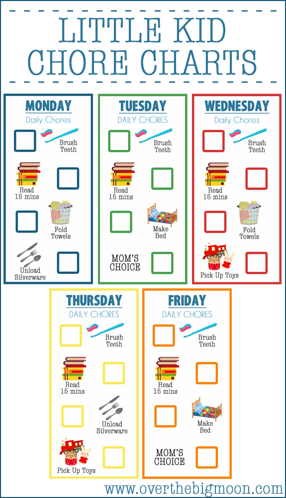 Chore Charts For Kids