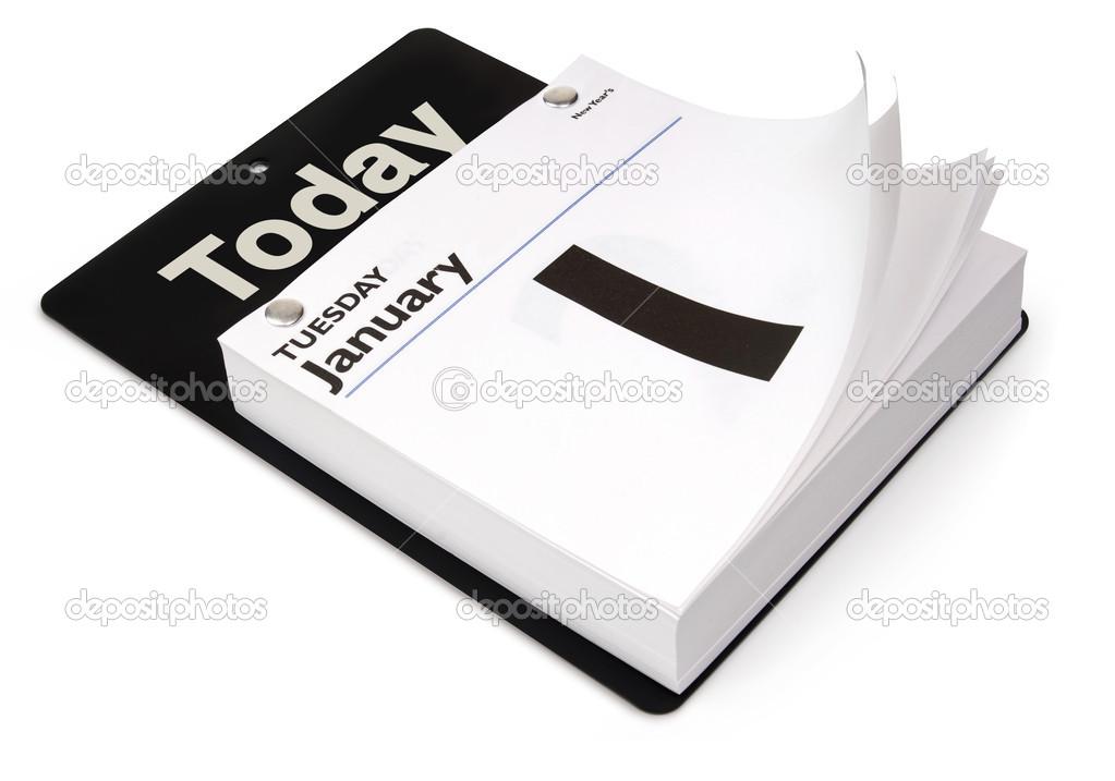 Day Calendar — Stock Photo © Jamesgroup  13484249