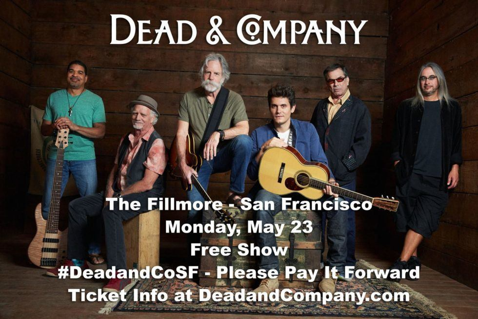 Dead & Company To Play Free Show At The Fillmore In San Francisco