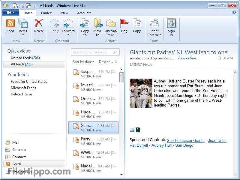 Download Windows Live Mail 16 4 3528